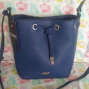 NWT Chaps bucket purse